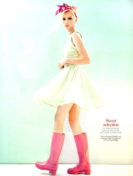 Alisa Sazonova Look Magazine March-April 2012 06