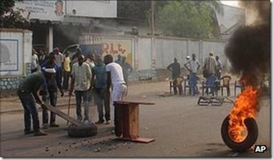 Democratic Republic of Congo Election Violence DRC