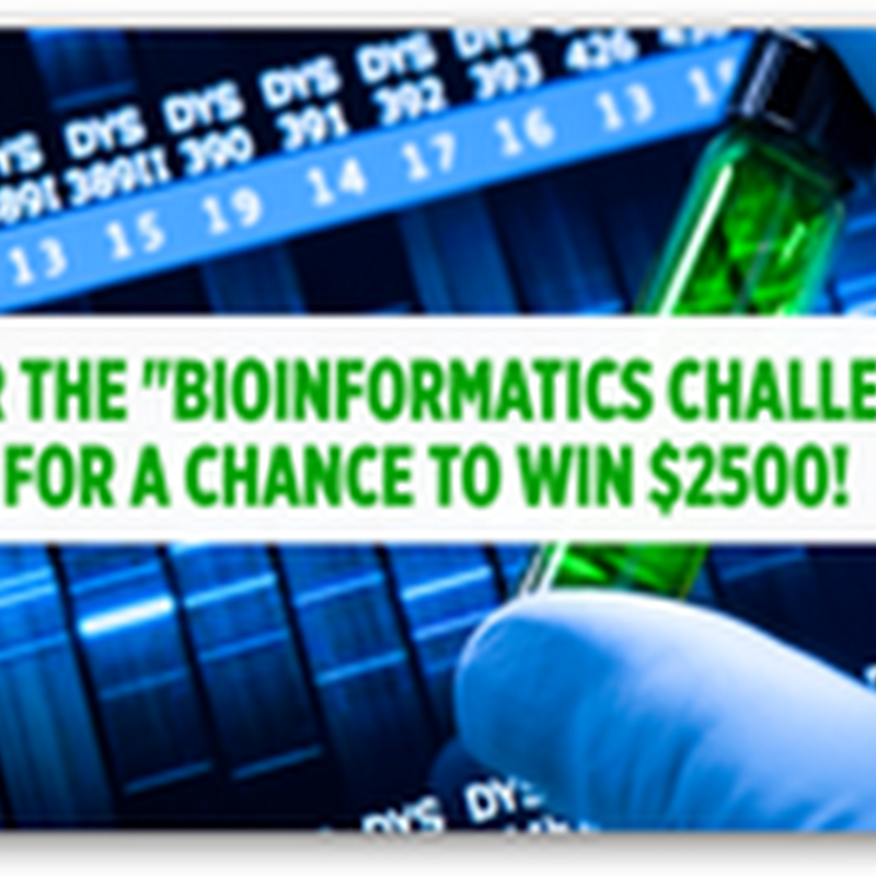 Archon Genomics X-Prize Bioinformatics Challenge Presented by Express Scripts Begins September 12 , 2010–$2500 Prize