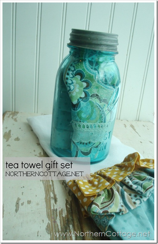 tea towel gift set @ NorthernCottage.net