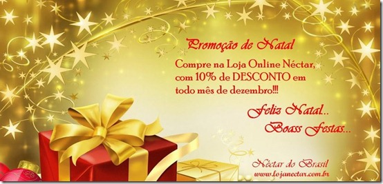Promoo de Natal na Loja online Nctar do Brasil!