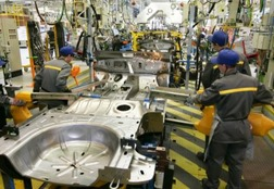 A produção de automóveis do Japão cresceu em novembro