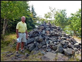 03e - Bar Island Hike - The summit