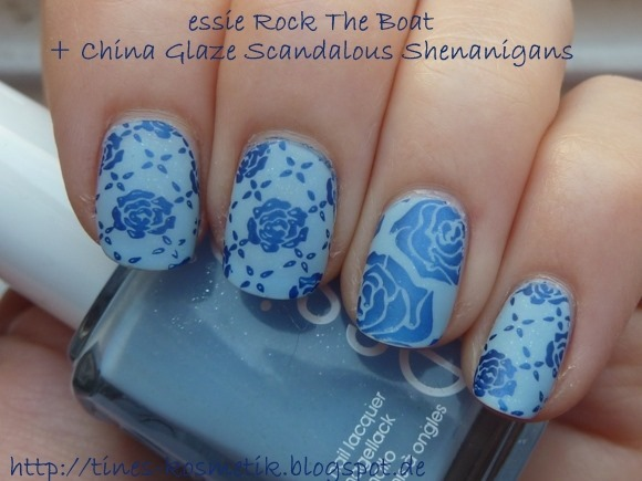 essie Rock The Boat Stamping 3