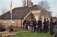 Wachtende pers en fotografen bij het Streekmuseum # Foto: hr. Schuurman - Zwolle