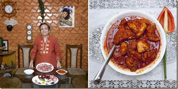 Portraits de grand-mères et leurs plats cuisinés (10)