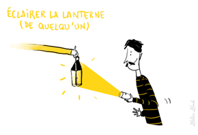 éclairer la lanterne