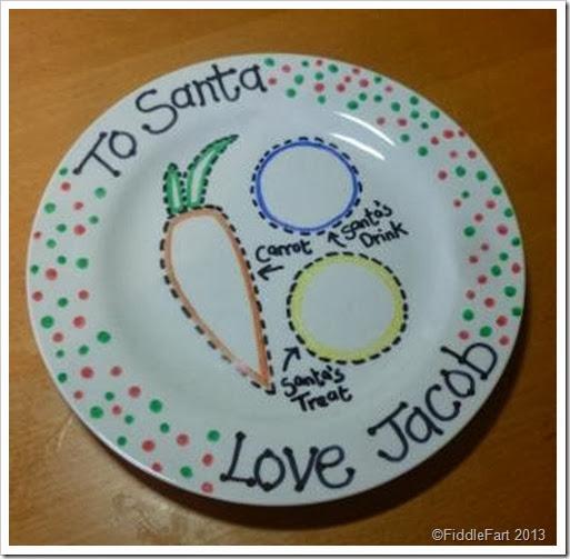 Santa's Plate
