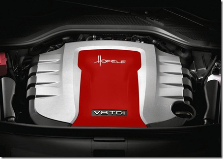 2011 Audi A8 D4 SR 8 by Hofele-Design engine cabinet