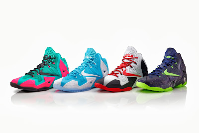nike lebron 10 id options preview 3 04 NIKEiD LEBRON 11 Set to Debut on October 7th in 3 Options