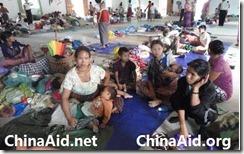 Burmese refugees taken in by House CHurch