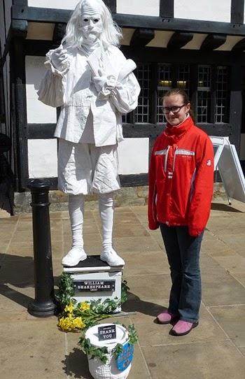 День рождения Шекспира в Стратфорде