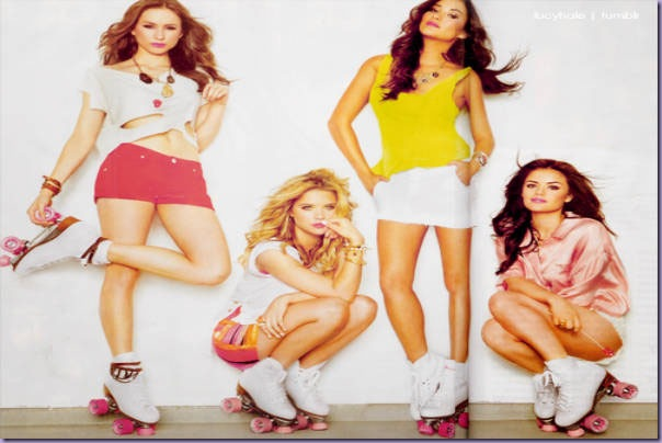 Troian-Bellisario-Lucy-Hale-Ashley-Benson-Shay-Mitchell-Pretty-Little-Liars-Patins