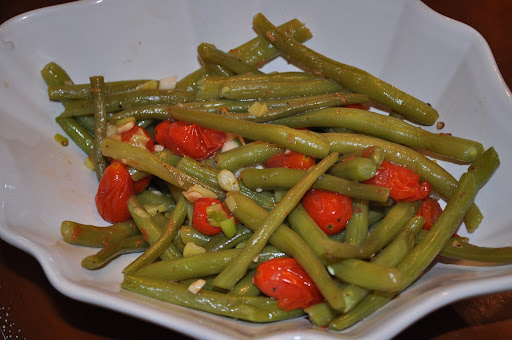 Doll up your green beans; photo by Samantha Kuvin