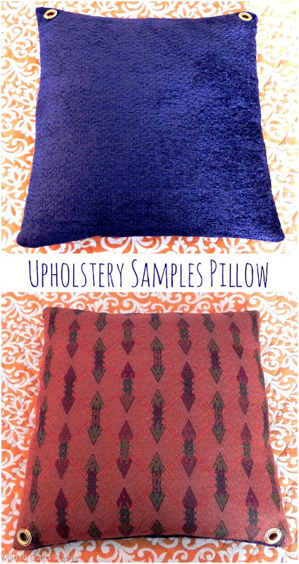 Upholstery Sample Pillow