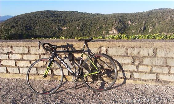 sortie vélo de route entre Saint Martin et Causse de la celle