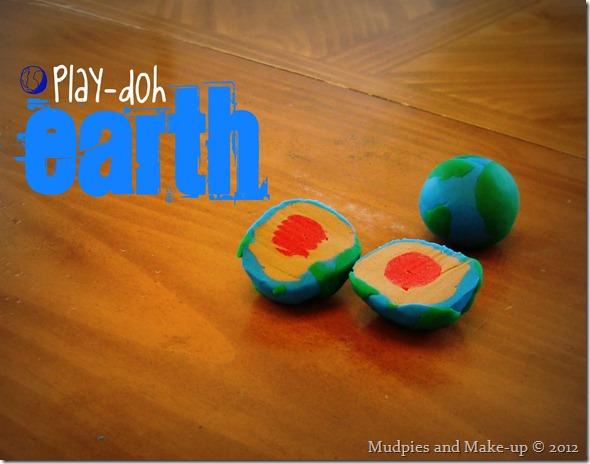 Play-doh Earth