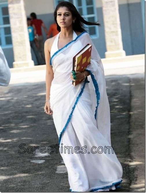 Nayanthara_White_Saree