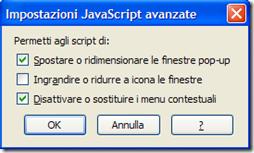 Firefox Disattivare o sostituire i menu contestuali