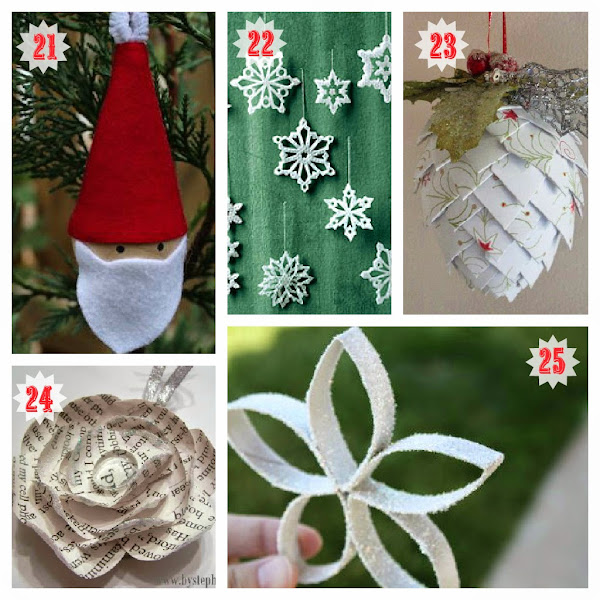 Easy christmas ornaments casual cottage for Simple christmas decorations to make