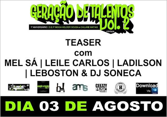 Teaser com Mel S&aacute;, Leile Carlos, Ladilson, Leboston e Dj Soneca