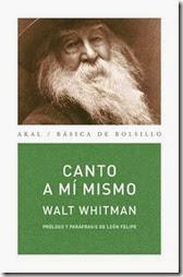 Canto_a_mi_mismo_Parafrasis_de_Leon_Felipe-Whitman_Walt-9788446017691