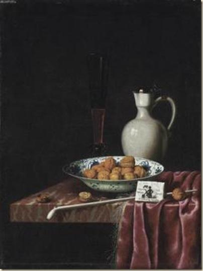 Hubert Van Ravesteyn, Nature morte aux noix