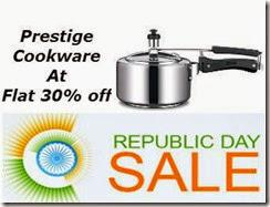 Shopclues : Buy PRESTIGE COOKWARE At FLAT 30% OFF