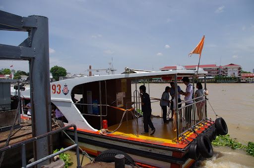 A Chao Praya river ferry.