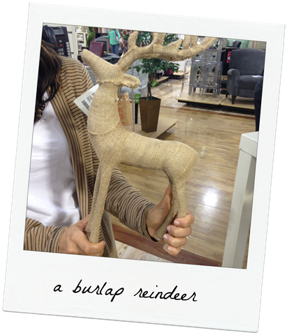 burlap-reindeer