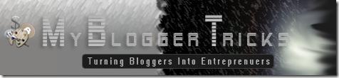 Mybloggertricks logo