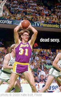 'Kurt Rambis. Dead Sexy.' photo (c) 2009, nate bolt - license: https://creativecommons.org/licenses/by-sa/2.0/