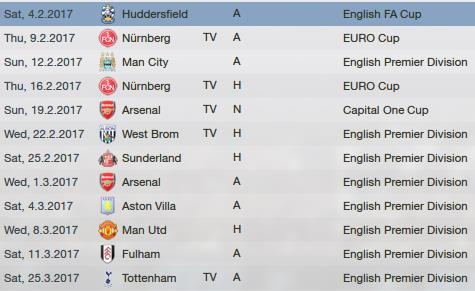 Tricky matches ahead