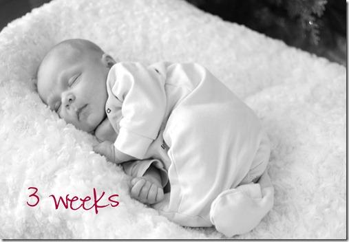 Isaac 3 weeks