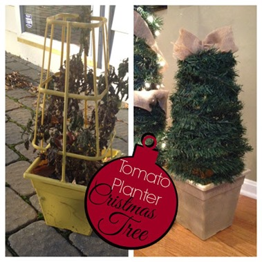 tomato planter christmas tree by two it yourself
