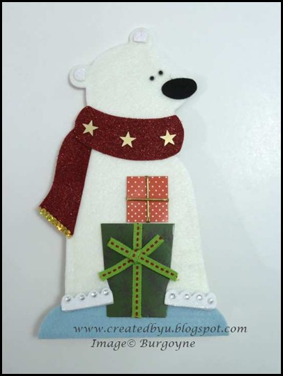 3.polar_bear_3d_card