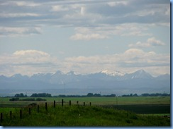 8747 Alberta Highway 22X - first view of Rocky Mountains