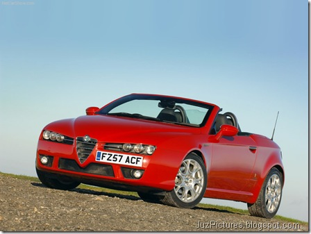 Alfa Romeo Spider UK Version _1