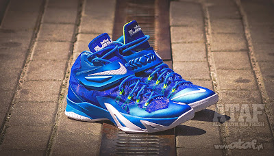 nike zoom soldier 8 gr blue white volt 2 05 Available Now: Nike Zoom LeBron Soldier VIII (8) Sprite