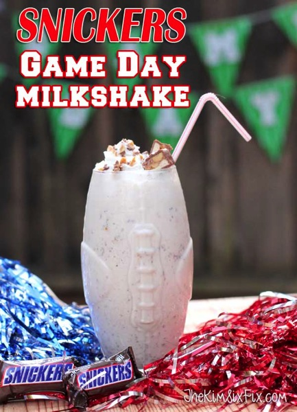 Snickers Game Day Milkshake