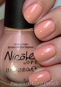 Nicole by OPI Paparazzi Don't Preach