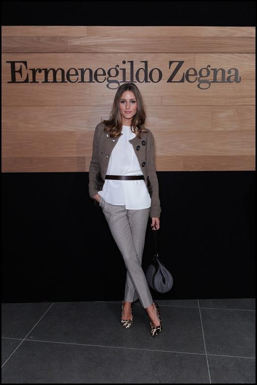 Olivia Palermo vestida de Agnona