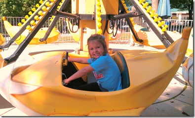 Anna on Banana Ride