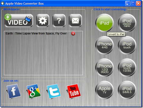 Apple Video Converter Box