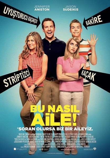 Bu Nas�l Aile! | We're the Millers | 2013 | 1080p | BluRay | x264 | DUAL