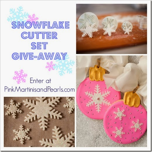 Snowflake Cutter Set Give-away