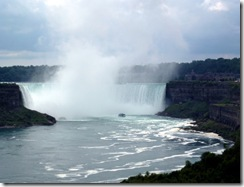 Horseshoe Falls from Canada