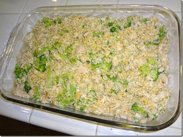 Broccoli Chicken Casserole 018