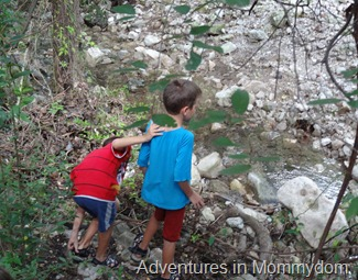 exploring for footprints