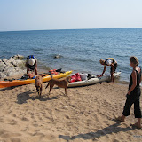 Gasten met de kano